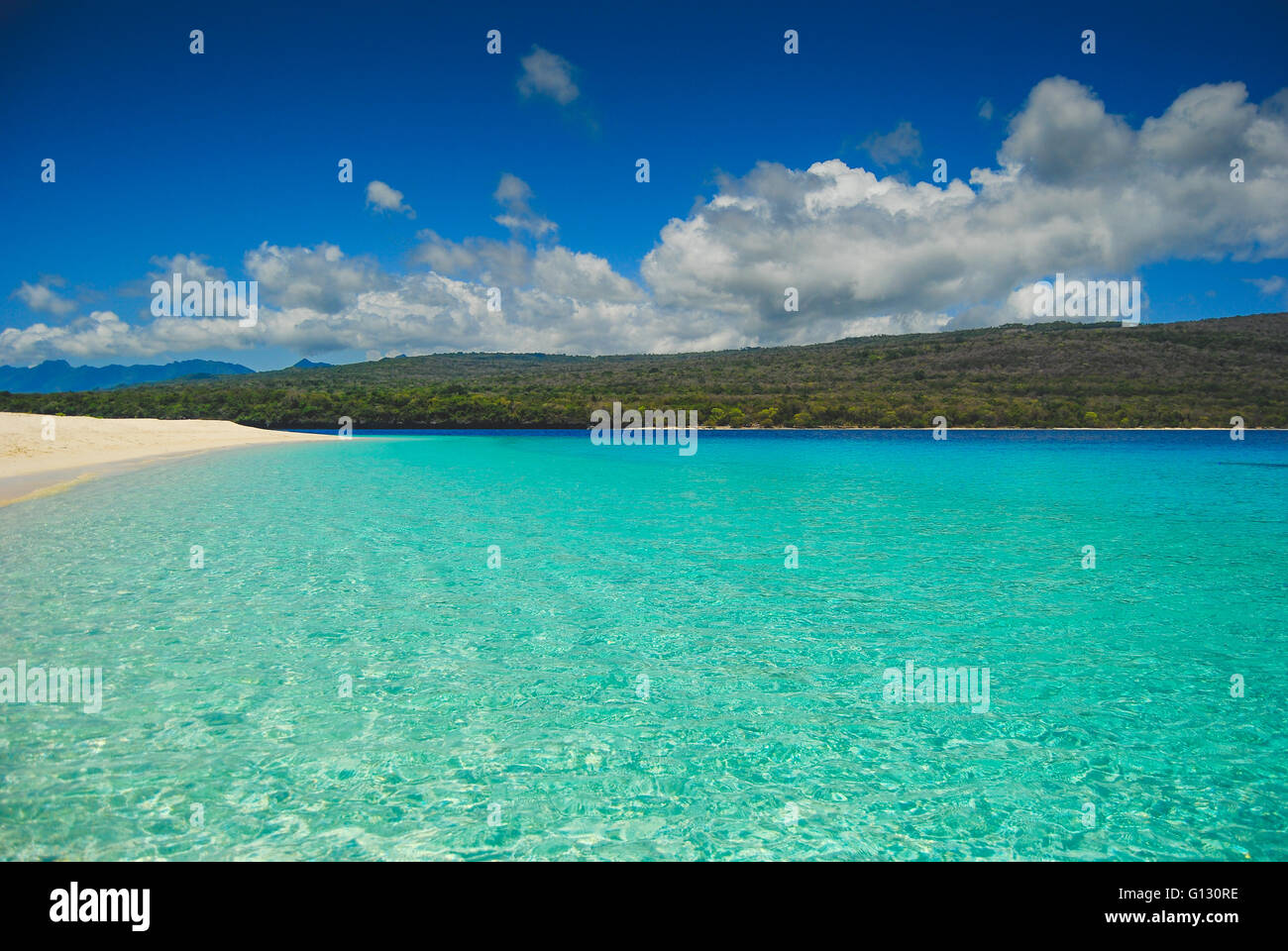 tropical beaches on jaco island in east timor stock photo: 103943378