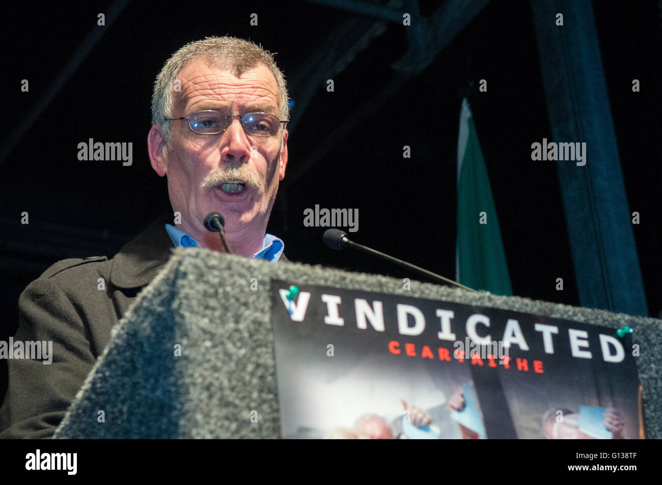 Londonderry. Northern Ireland. 30 Jan 2011 - Frankie Duddy, whose brother Jackie was one of the victims of Bloody - Stock Image
