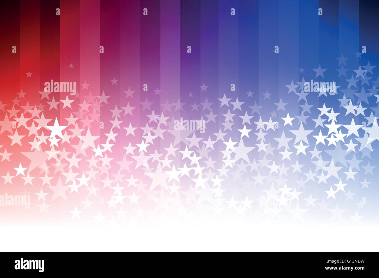 Vector Abstract Star Background Blue Red And White Colors