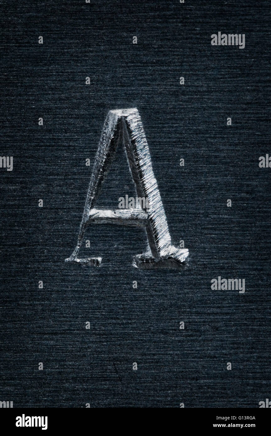 Single Letter Stock Photos Single Letter Stock Images Alamy