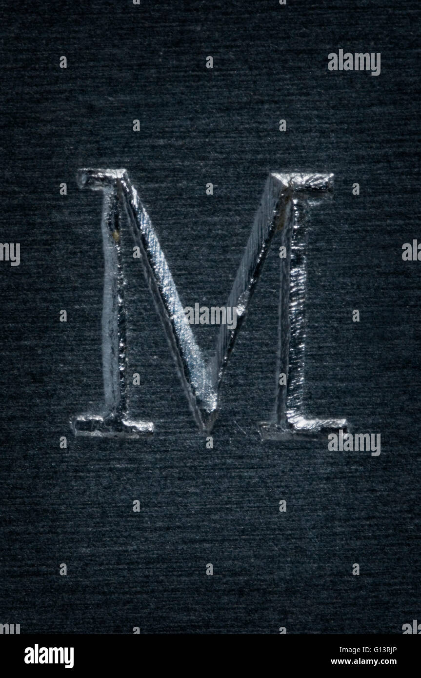Letter M Stock Photos Letter M Stock Images Alamy