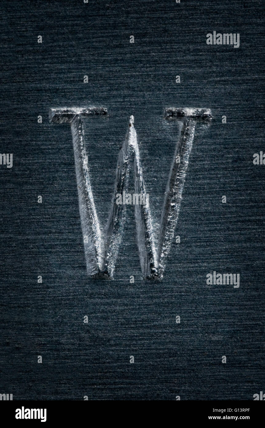 W Letter Symbol Stock Photos W Letter Symbol Stock Images Alamy