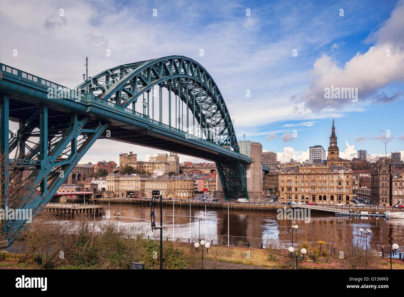 Tyne Bridge, Tyne and Wear, England, UK Stock Photo