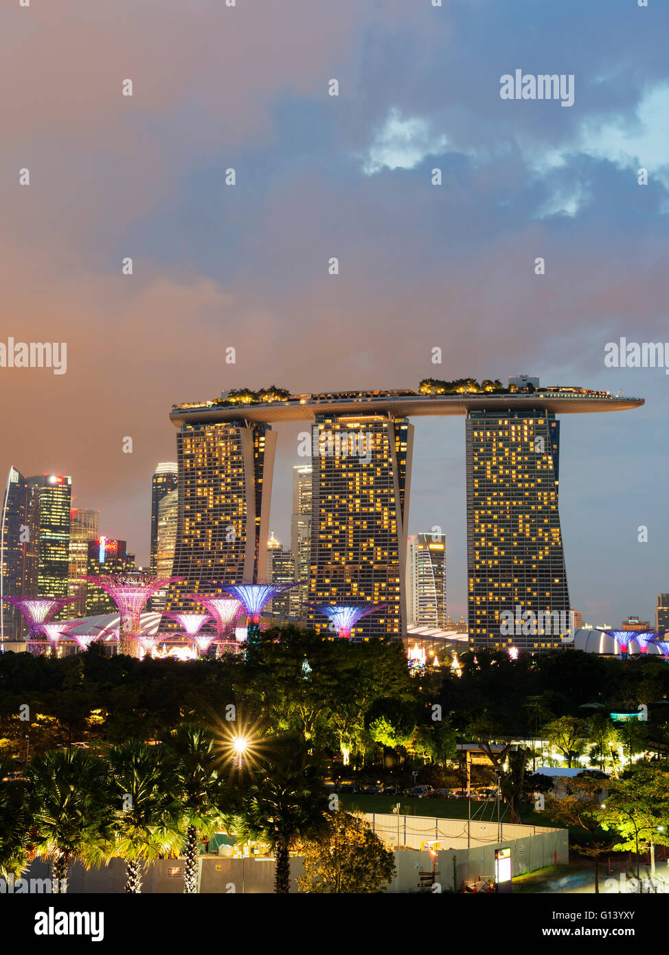 South East Asia, Singapore, Gardens by the Bay, Supertree Grove and ...