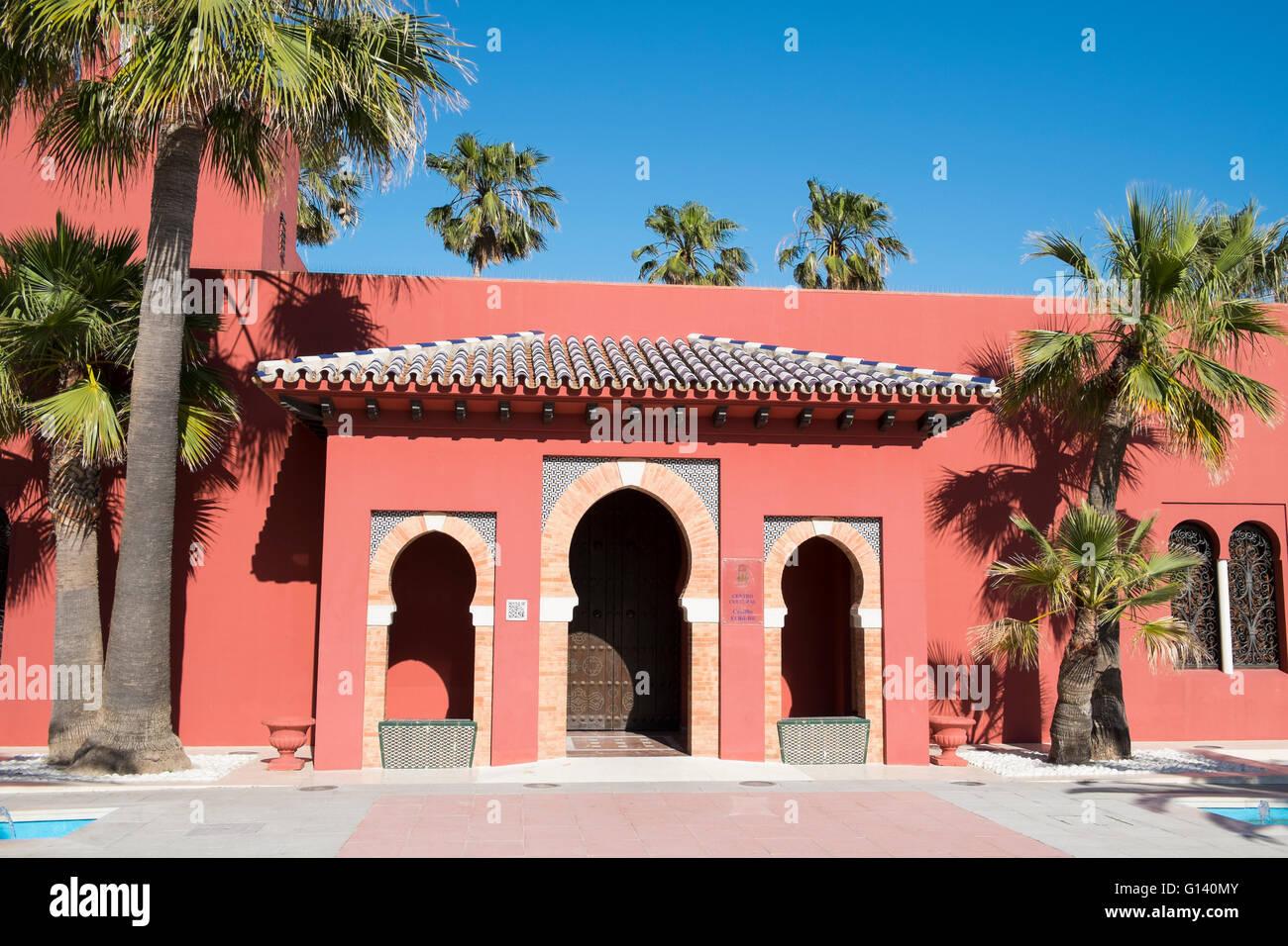 Castillo Bil Bil. Benalmádena costa, Málaga, Spain - Stock Image