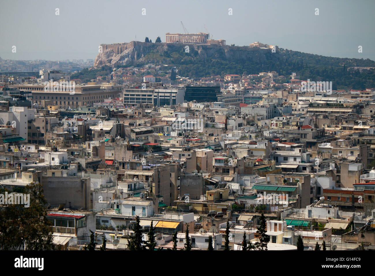 Akropolis, Athen, Griechenland. Stock Photo