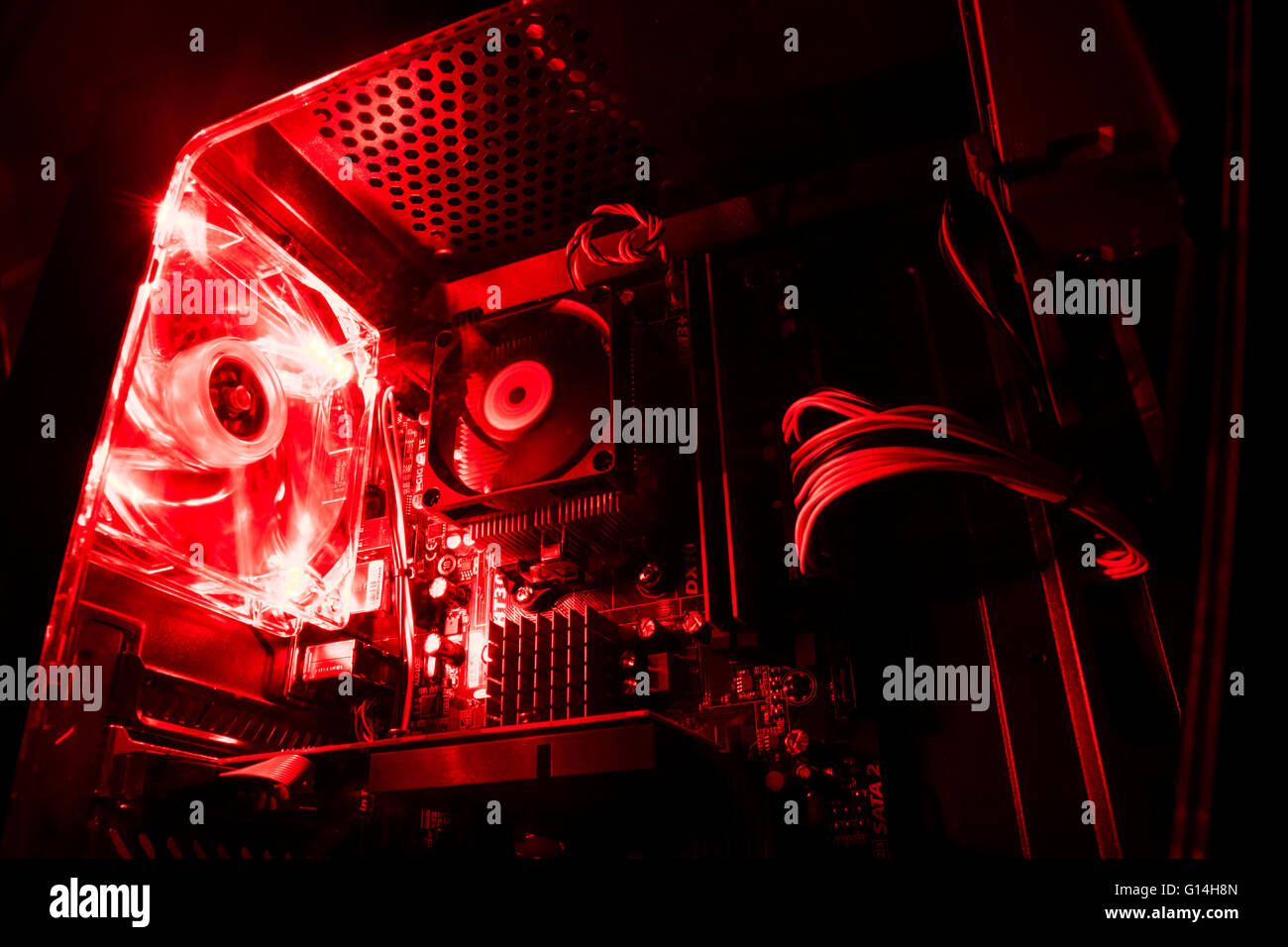 Digital Circuits Stock Photos Images Alamy Analog And Are Made From Parts Cyberpowerpc Image