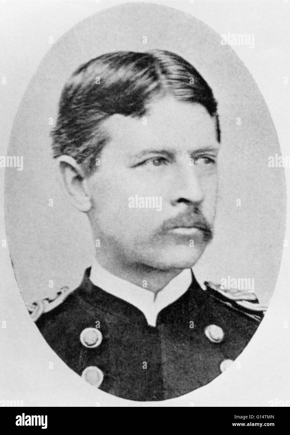 Walter Reed (1851 - 1902), American physician, specialized in the study of epidemic diseases. He discovered ways - Stock Image