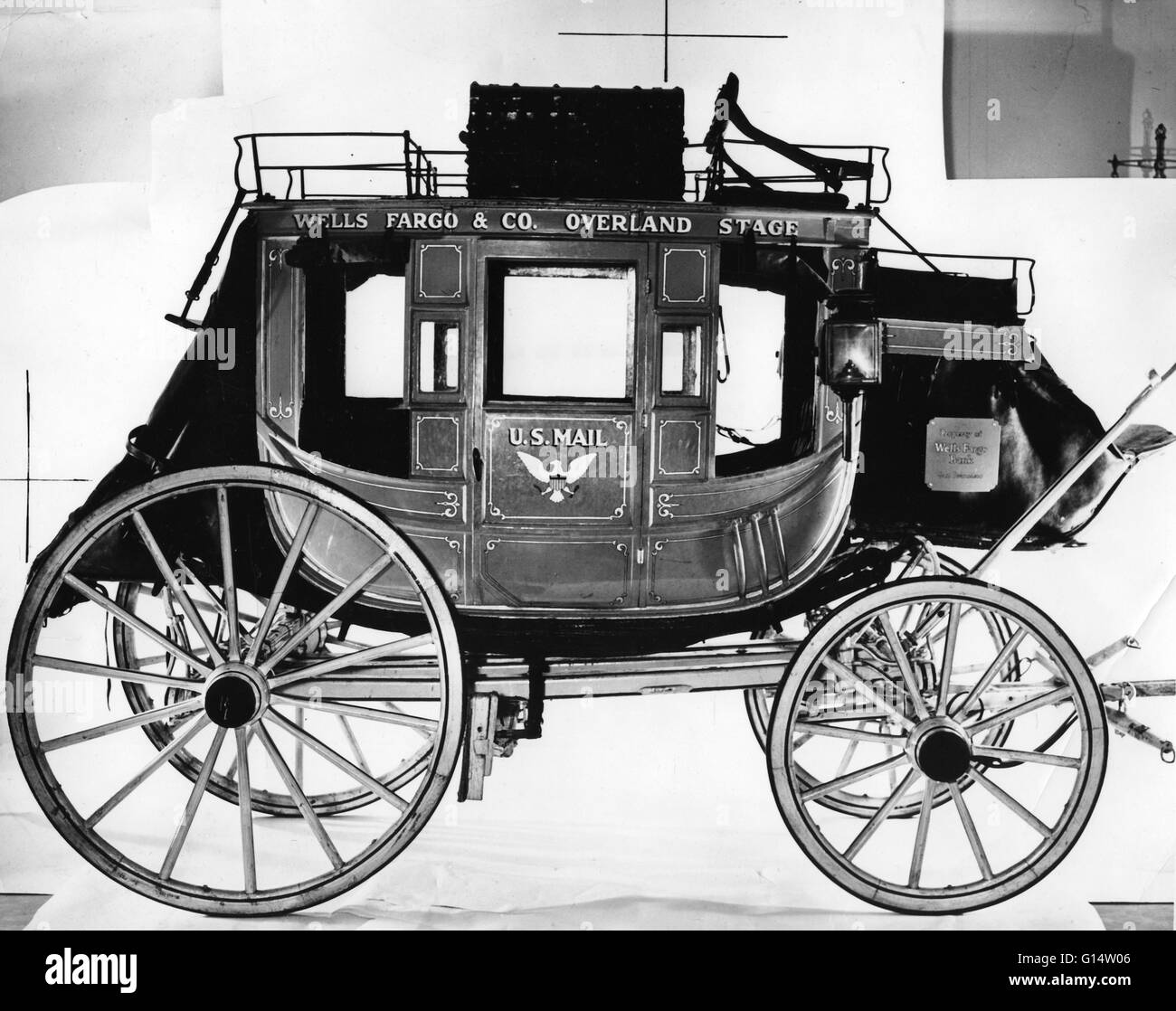 Concord Stagecoach. - Stock Image