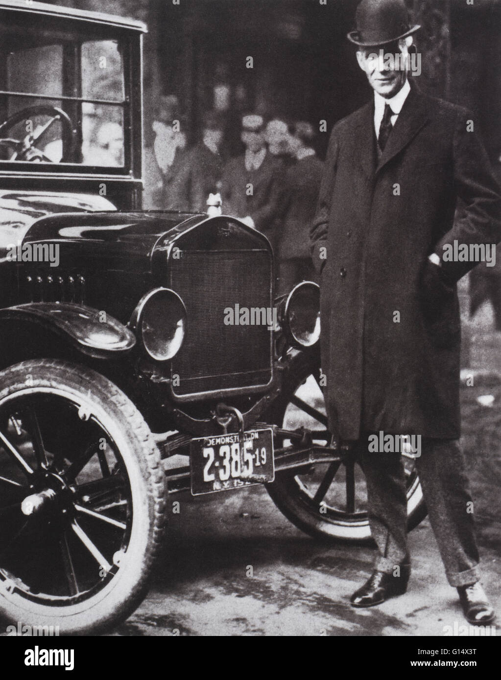 Henry Ford (July 30, 1863 - April 7, 1947) was an American industrialist, the founder of the Ford Motor Company, - Stock Image