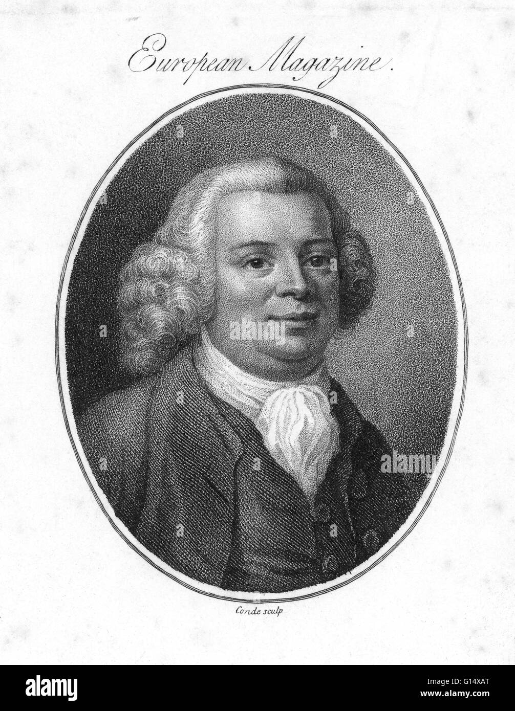 James Brindley (1716 - September 27, 1772) was an English engineer. He received little formal education but was - Stock Image
