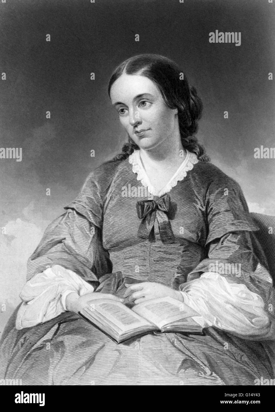 Margaret Fuller (1810-1950), American writer, journalist, critic, and women's rights activist. She was associated - Stock Image