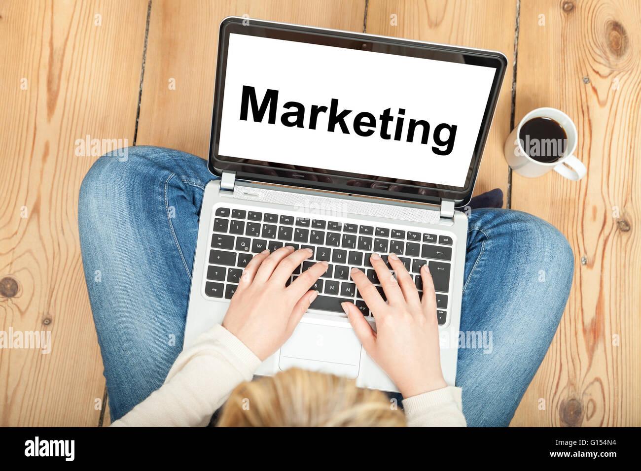 Marketing - Stock Image