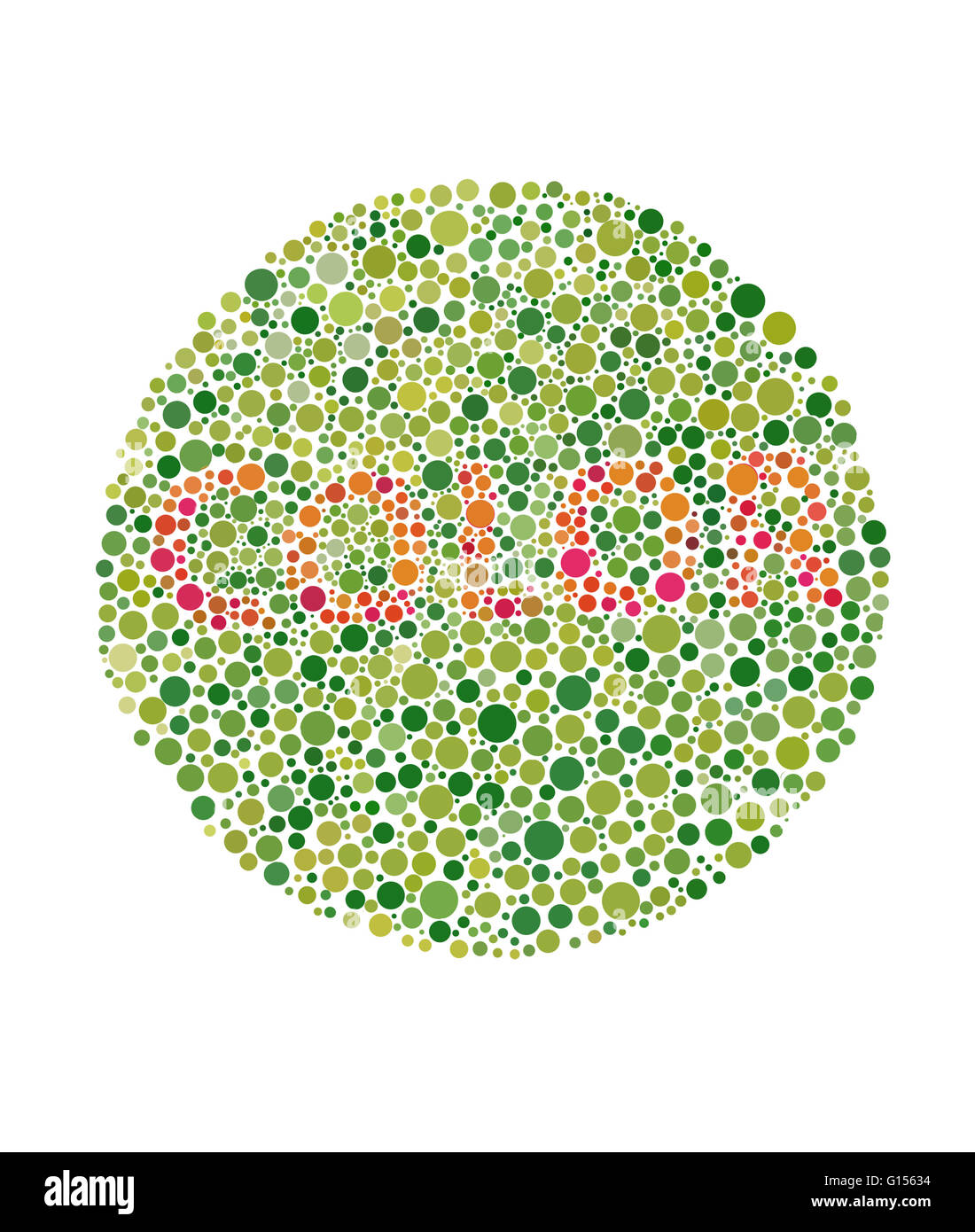 Color Blindness Test Cut Out Stock Images & Pictures - Alamy