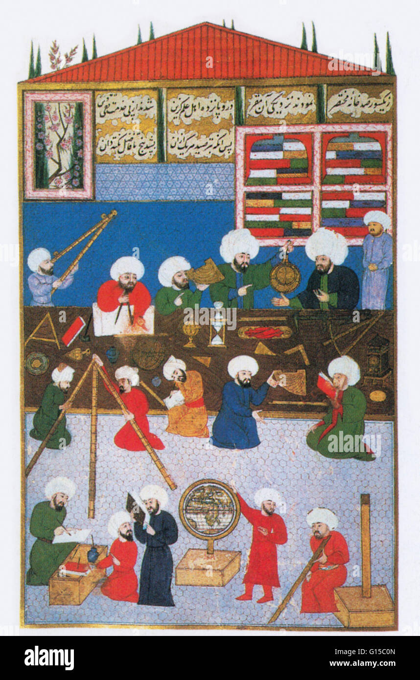 In 1575, when the Ottoman empire was at its height, the astronomer Taqi  ad-Din founded an observatory at Galata (now part of Istanbul, Turkey).