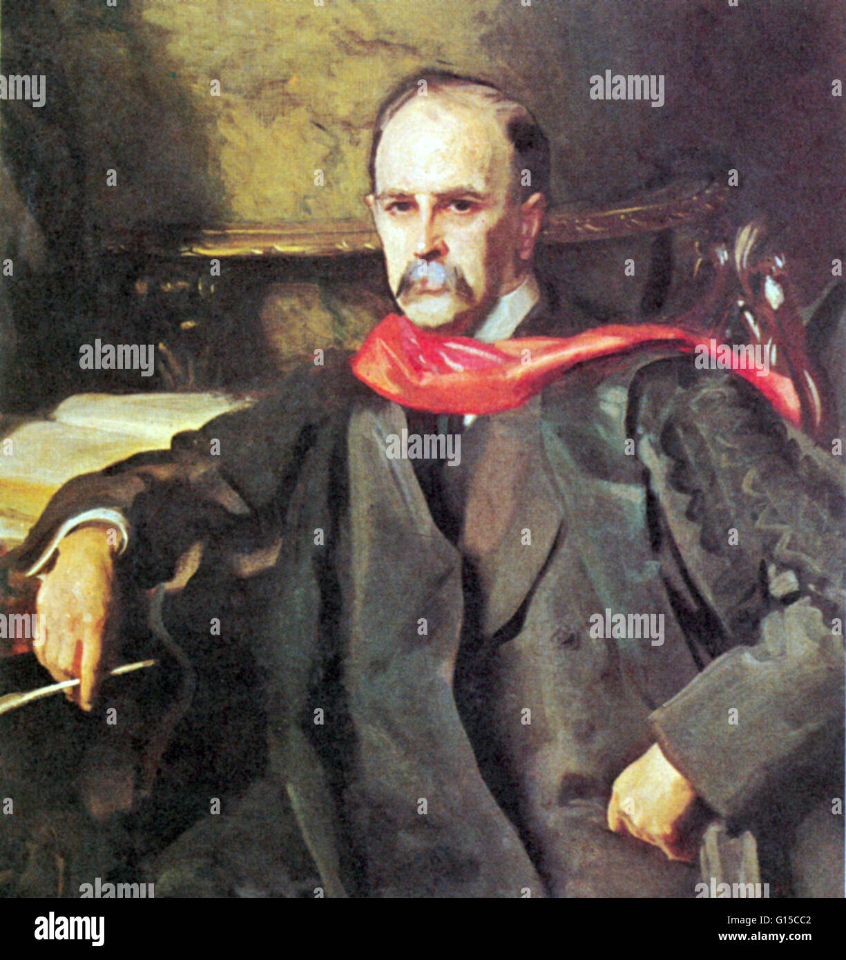 William Osler (1849-1919) was a physician  He was one of the