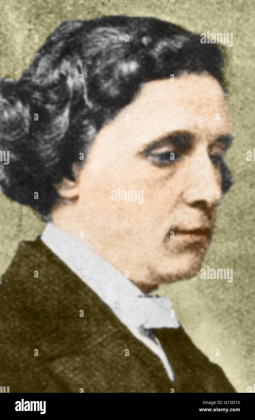 Charles Lutwidge Dodgson (January 27, 1832 - January 14, 1898), better known by the pen name Lewis Carroll, was - Stock Image