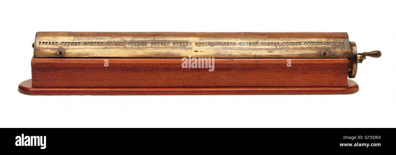 19th century calculator. - Stock Image