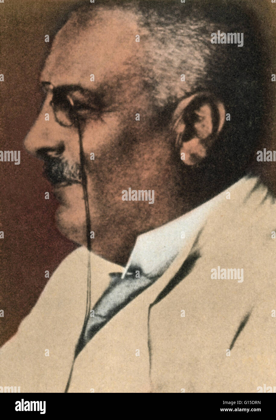 Aloysius 'Alois' Alzheimer (1864-1915) was a German psychiatrist and neuropathologist and a colleague of - Stock Image