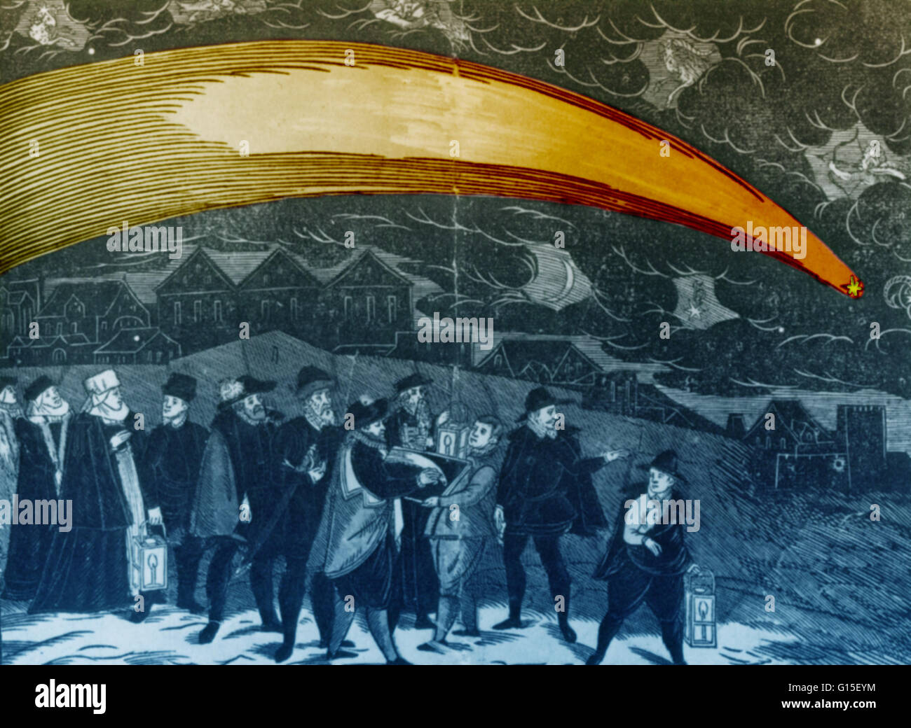 The Great Comet of 1577 was a comet that passed close to Earth during the  year 1577 AD. It was viewed by people all over Europe, including famous  Danish ...