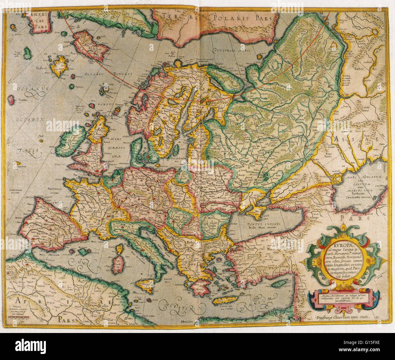 North Sea Europe Map.North Europe Map Stock Photos North Europe Map Stock Images Alamy