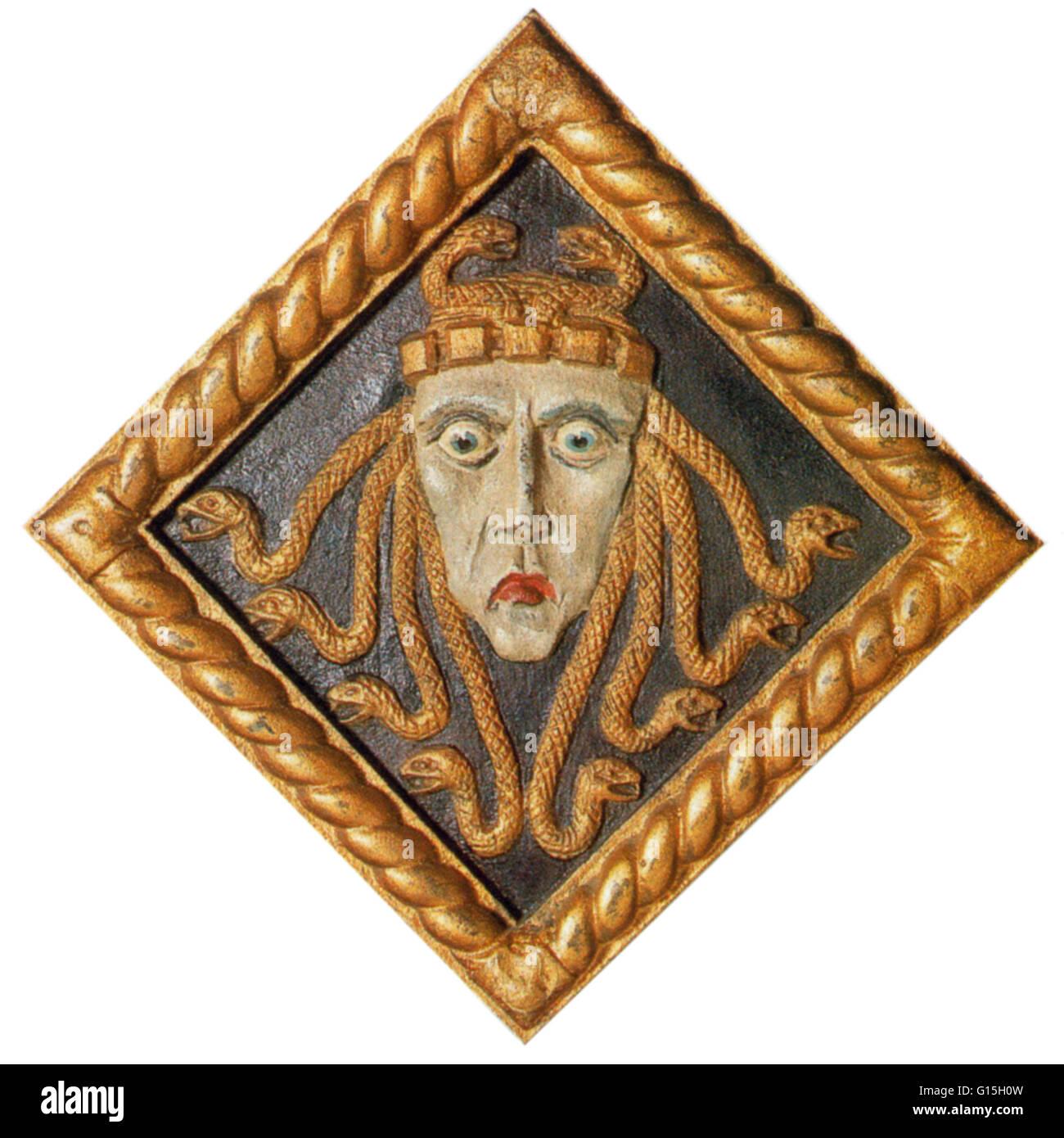 greek mythology athena and medusa