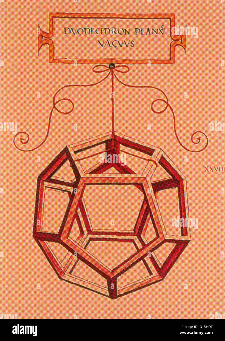 An Illustration Of A Dodecahedron The Platonic Symbol Of The Cosmos