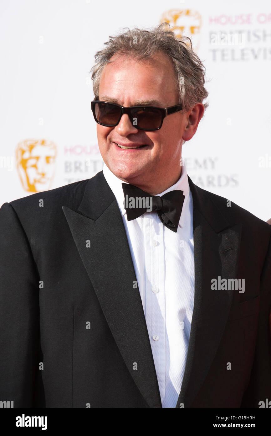 London, UK. 8 May 2016. Actor Hugh Bonneville. Red carpet  celebrity arrivals for the House Of Fraser British Academy - Stock Image