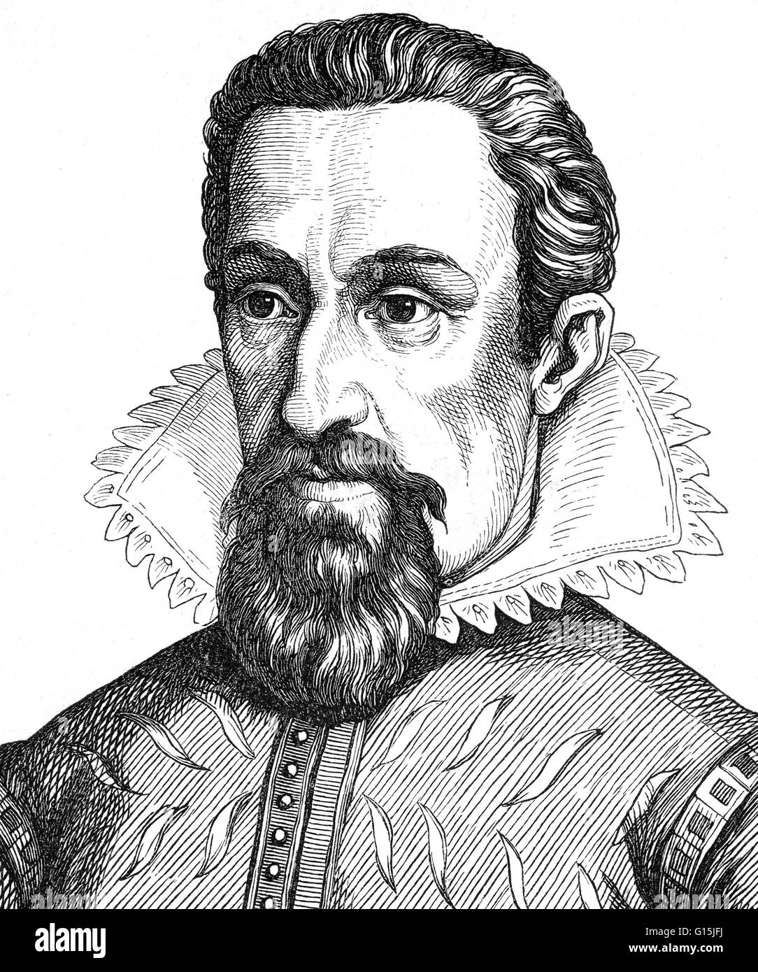 Johannes Kepler (December 27, 1571 - November 15, 1630) was a German mathematician, astronomer and astrologer. A - Stock Image
