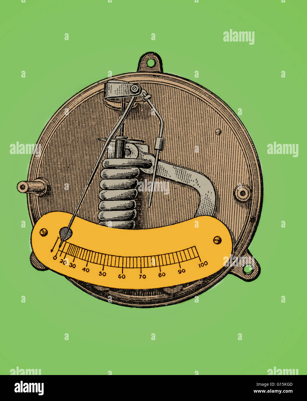 Instrument Current Electricity : Ammeter stock photos images alamy