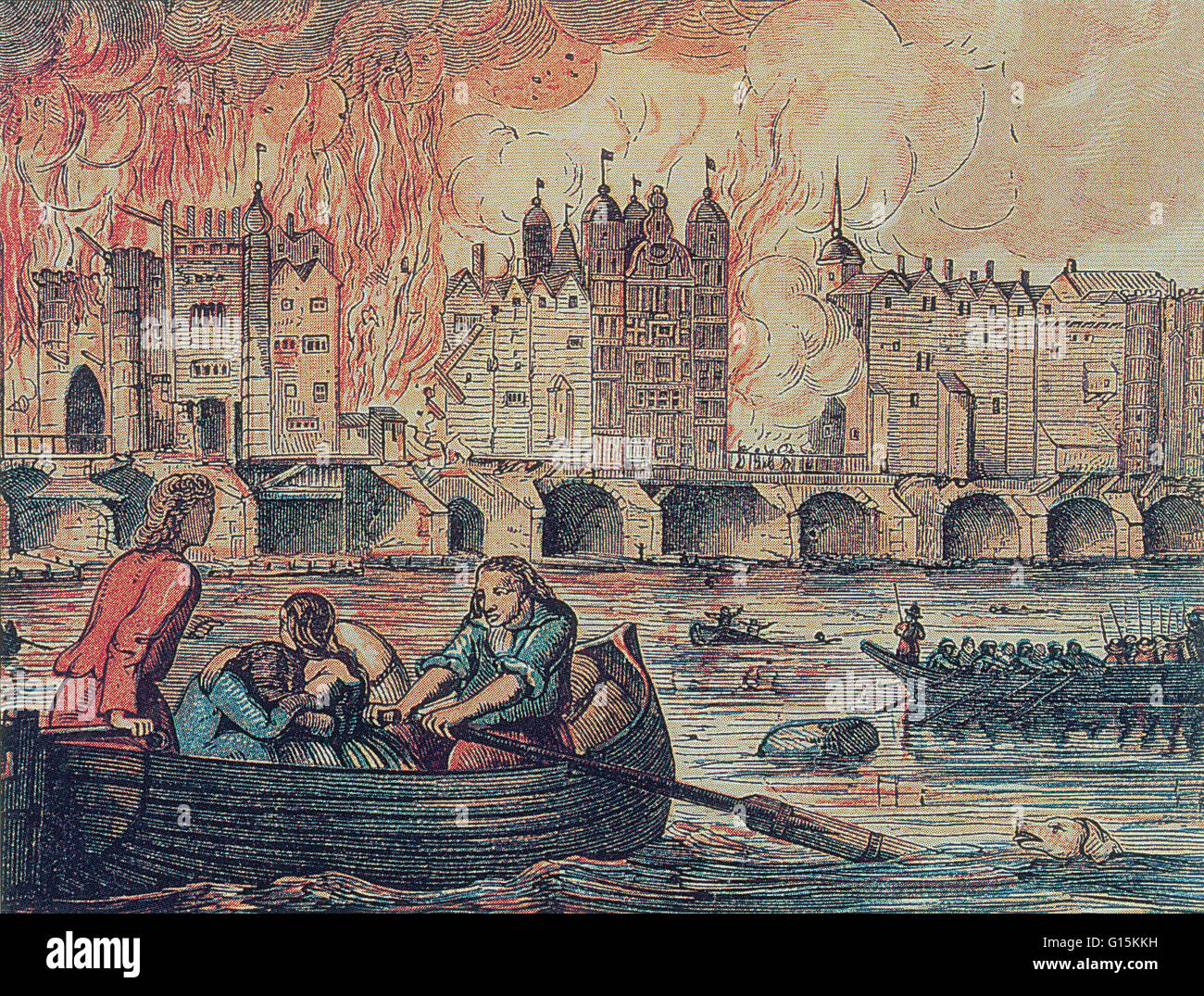In the early hours of September 2, 1666 a fire began at a bakehouse in