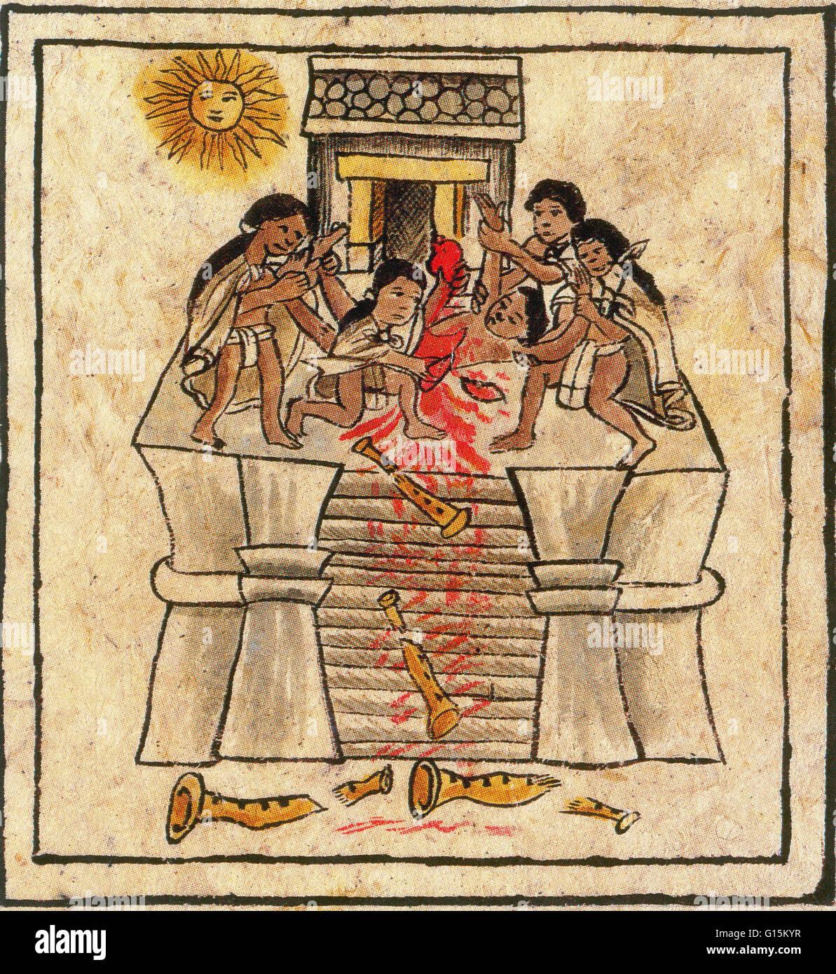 mayan sacrifice reenactment - 826×900