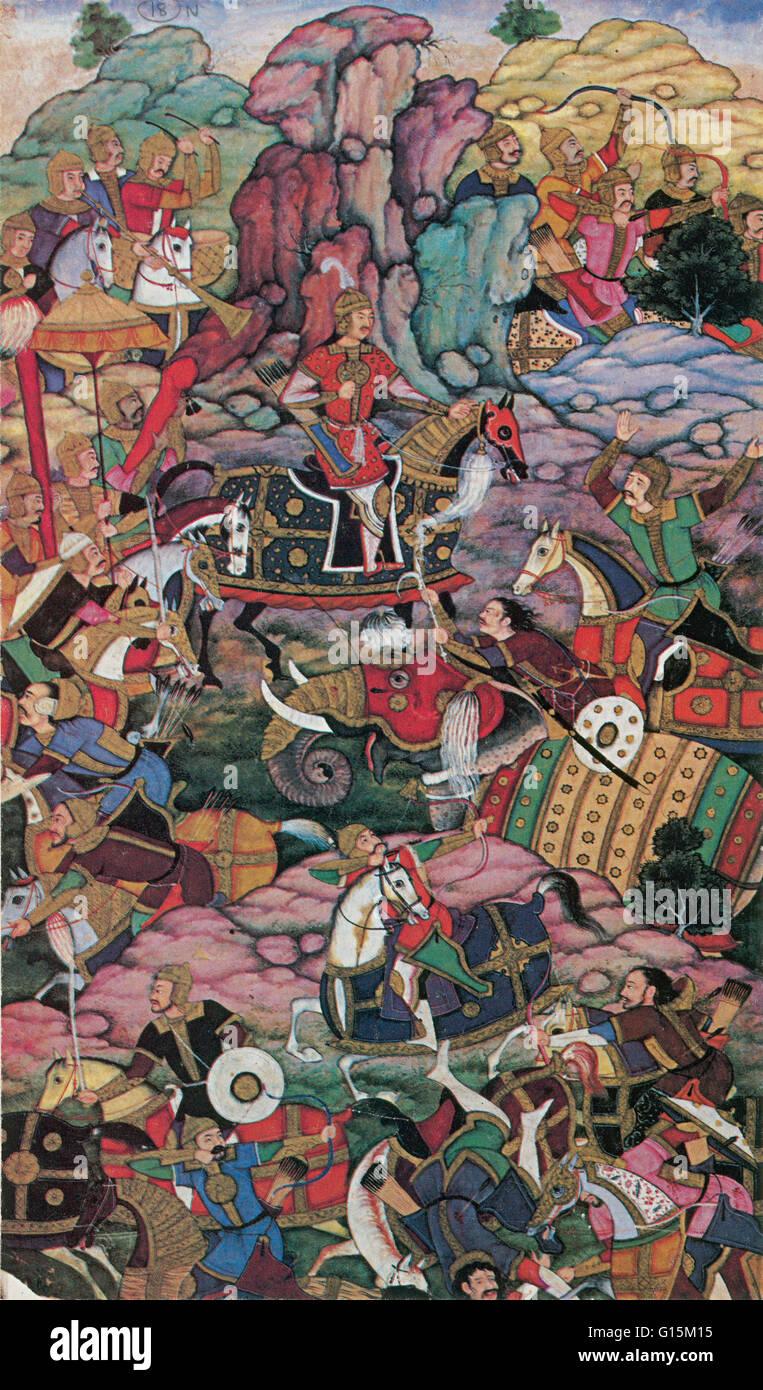 genghis khan india