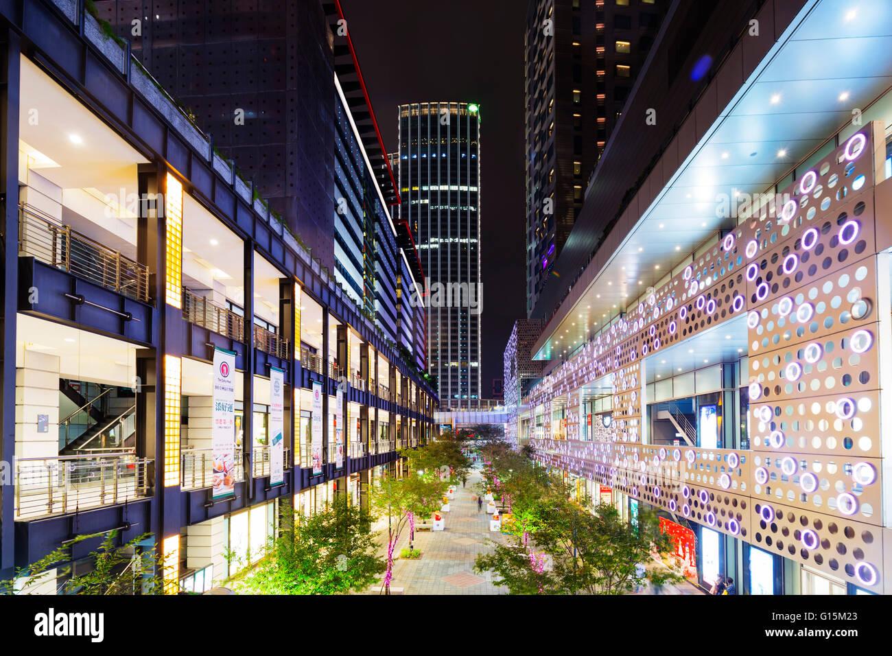 City center, Taipei, Taiwan, Asia - Stock Image
