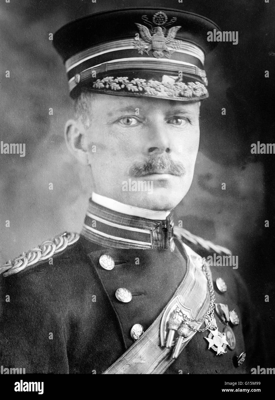 Major General George Owen Squier (March 21, 1865 - March 24, 1934) graduated from the United States Military Academy - Stock Image
