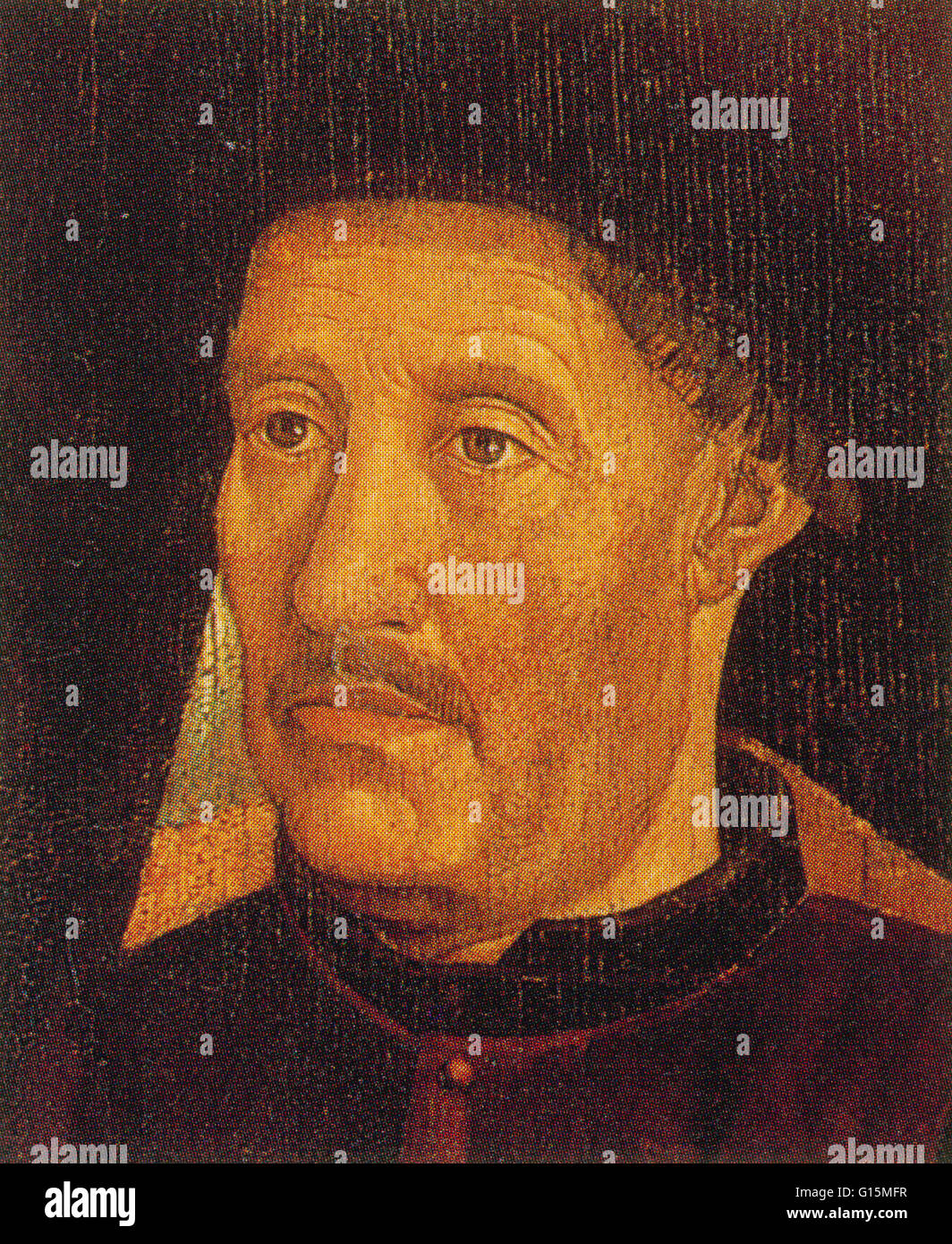 Henry the Navigator (March 4, 1394 - November 13, 1460) is regarded as the patron of Portuguese exploration and - Stock Image