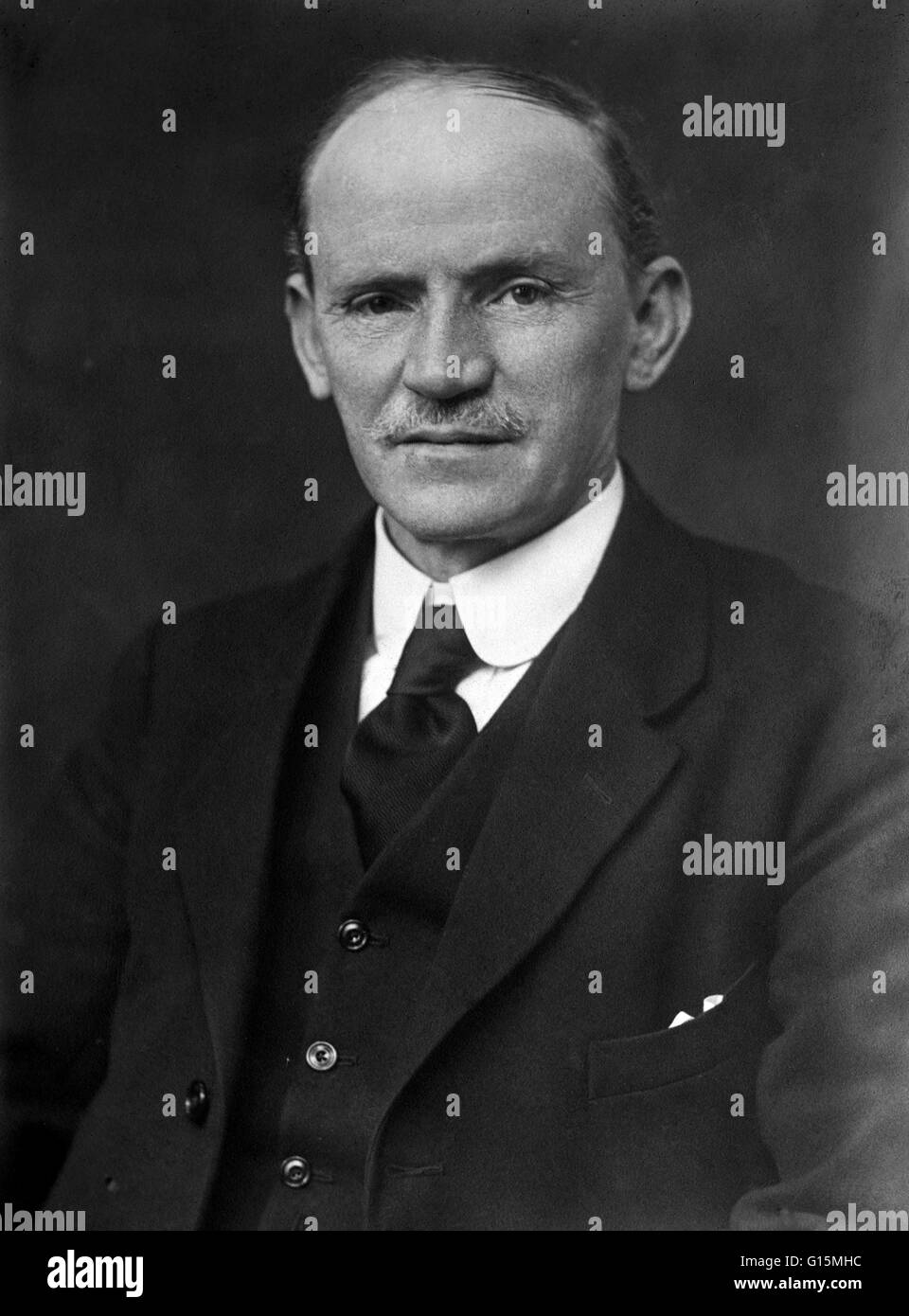 Alfred Fowler (March 22, 1868 - June 24, 1940) was an English astronomer. He was appointed Instructor (later Assistant - Stock Image