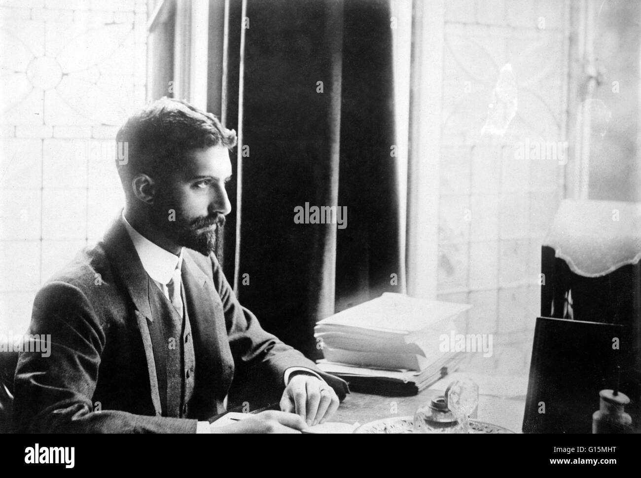 Caleb Williams Saleeby (1878 - December 9, 1940) was an English physician, writer, and journalist. He was an advocate - Stock Image