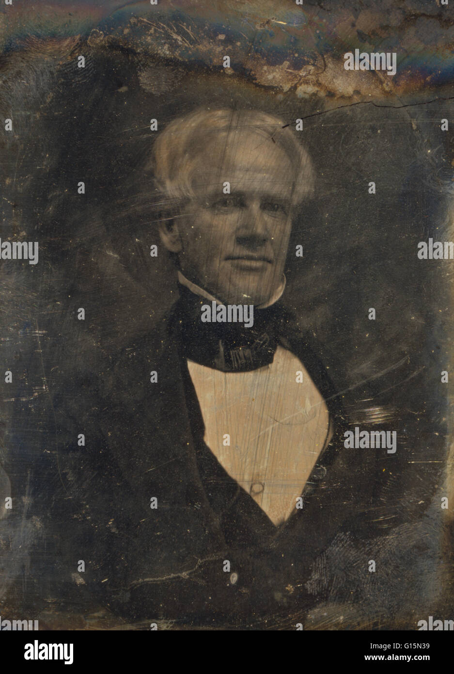 Horace Mann (May 4, 1796 - August 2, 1859) was an American education reformer. As a politician he served in the - Stock Image