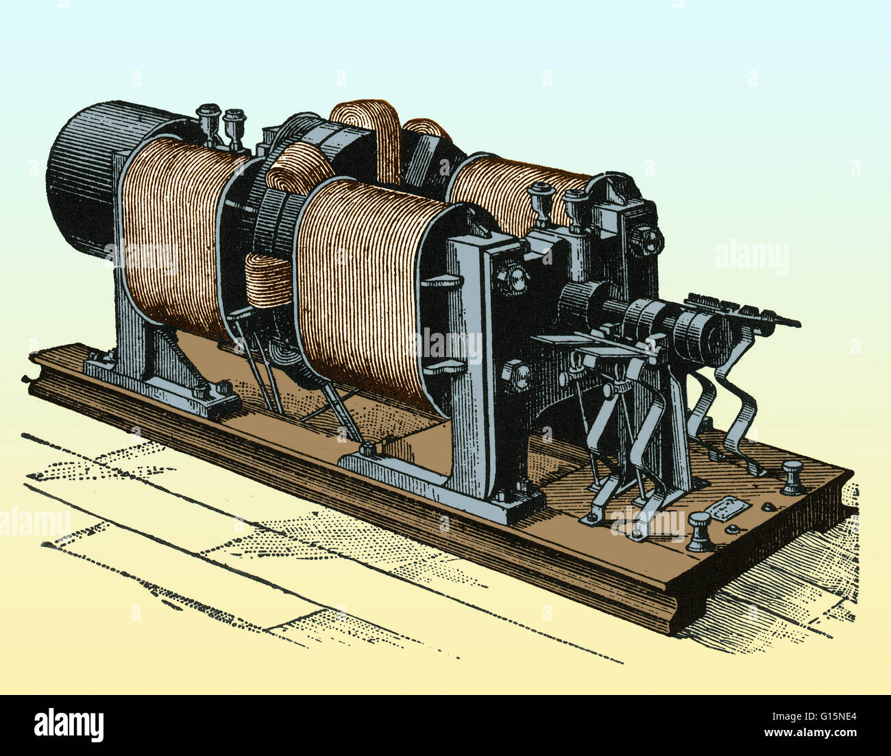 Dynamo Electric Machine The Was First Generator Capable Of Delivering Power For Industry