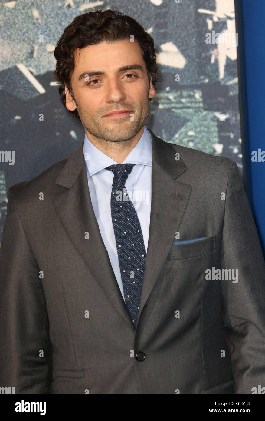 London, UK. 9th May, 2016. Oscar Isaac attending 'X-Men Apocalypse' Global Fan Screening at BFI Imax in - Stock Image