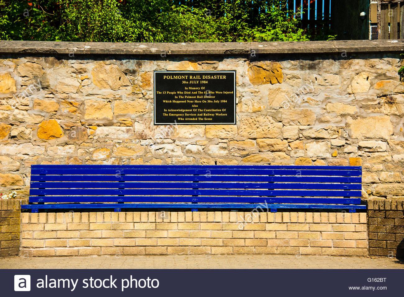 Polmont, Scotland, UK. 9th May 2016. UK Weather, Sunshine in Scotland, Sunshine at Polmont Station, the railway Stock Photo