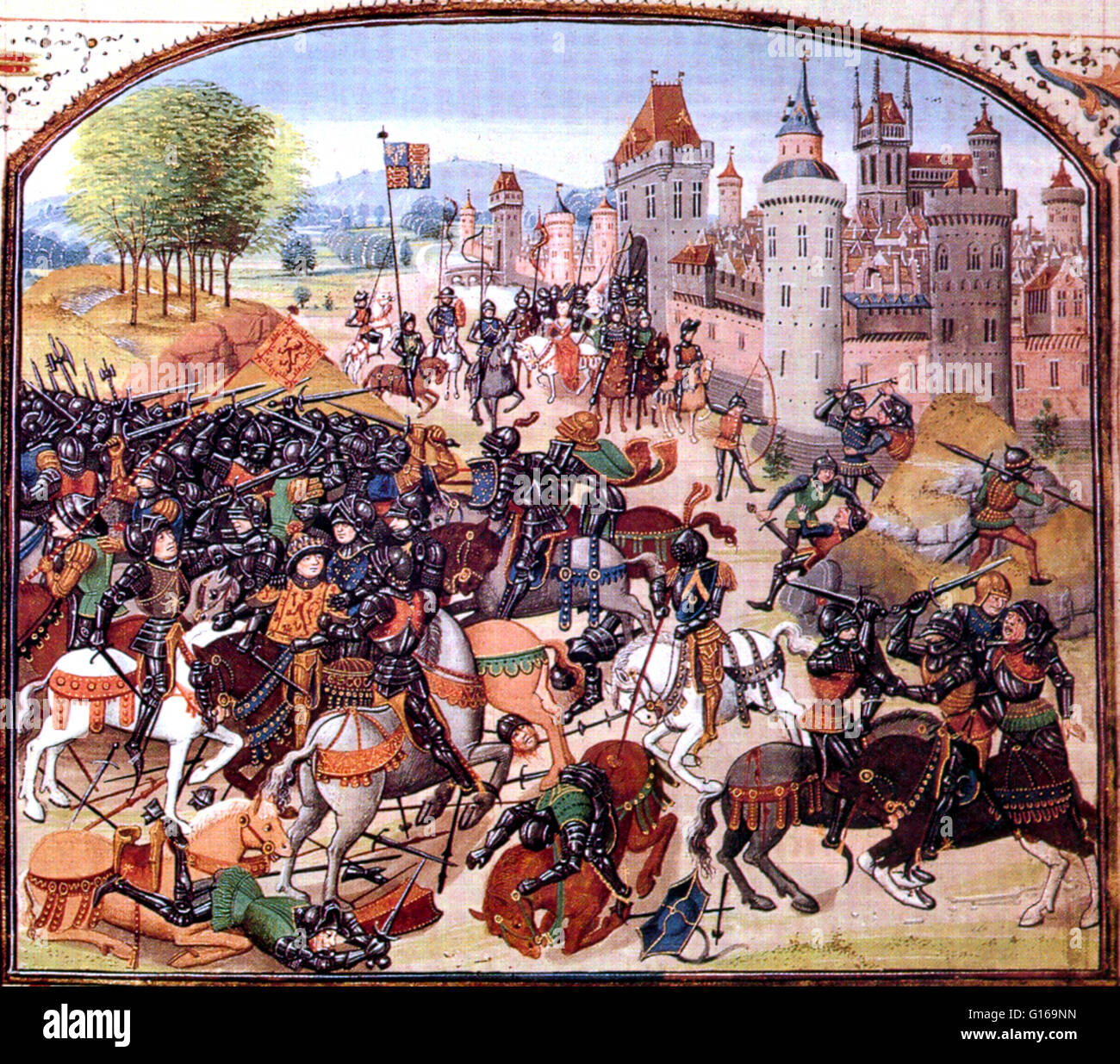 In 1346, England was embroiled in the Hundred Years' War with France. In  order to divert his enemy Philip VI of France appealed to David II of  Scotland to ...