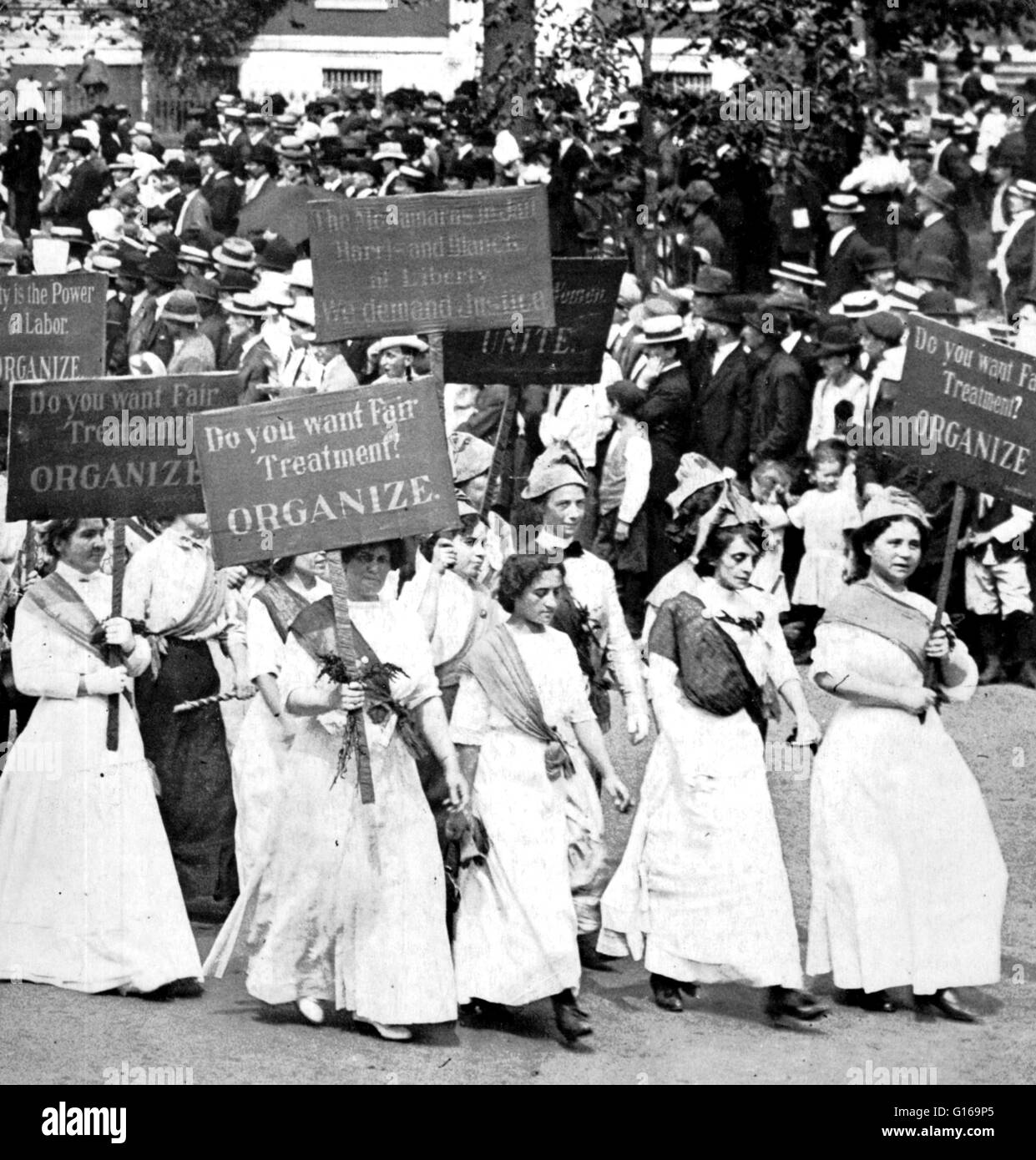 """Women's suffrage is the right of women to vote and to run for office. By the end of the 19th century, Idaho, Colorado, Utah, and Wyoming had enfranchised women after effort by the suffrage associations at the state level. During the beginning of the 20th century, as women's suffrage faced several important federal votes, a portion of the suffrage movement known as the National Women's Party led by suffragist Alice Paul became the first """"cause"""" to picket outside the White House. After years of opposition, Wilson changed his position in 1918 to advocate women's suffrage as a war measure. The key Stock Photo"""