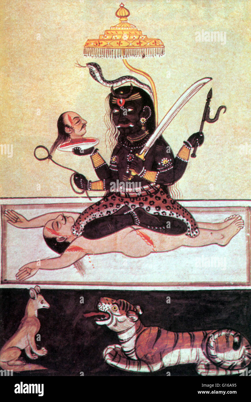 Kali Is The Fierce Aspect Of The Goddess Durga Kali The Black One