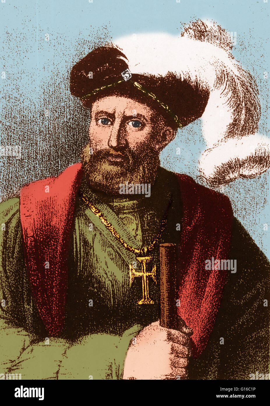 Vasco da Gama (1460 or 1469-1524) was a Portuguese explorer, one of the  most successful in the Age of Discovery and the commander of the first  ships to sail ...
