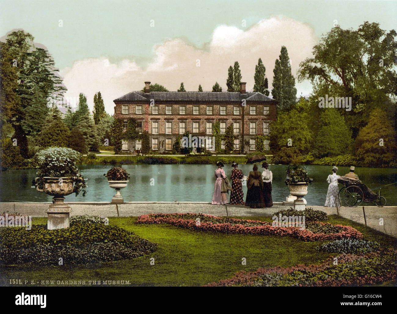 Kew Gardens originated in the exotic garden at Kew Park formed by ...
