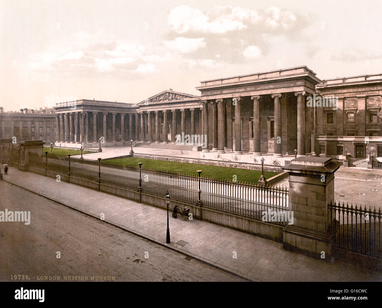 The British Museum is a museum in London dedicated to human history and culture. Its permanent collection, numbering Stock Photo