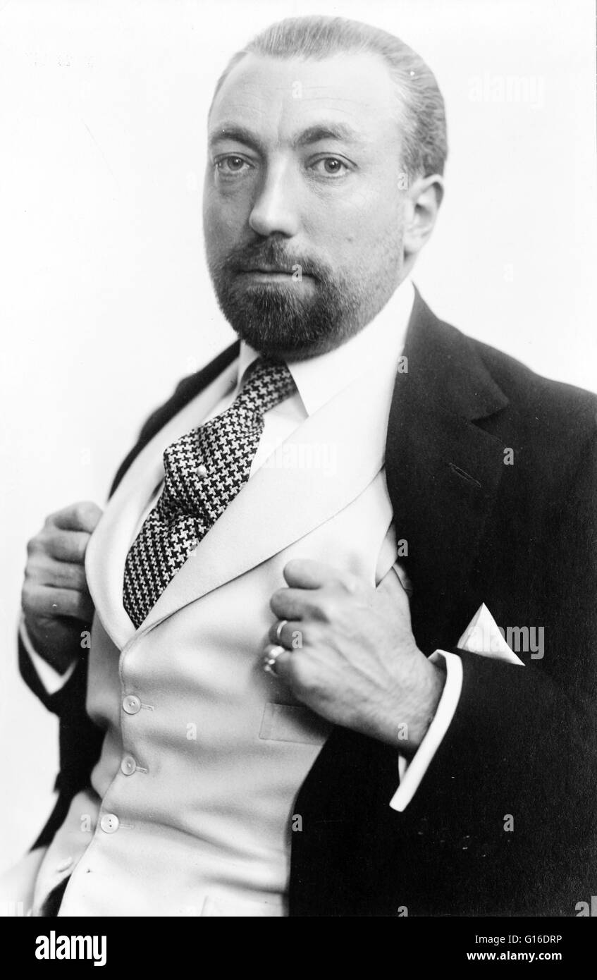 Paul Poiret April 20 1879 April 30 1944 Was A Leading French Stock Photo Alamy