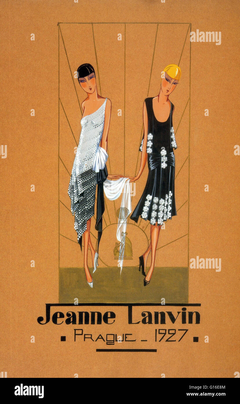 Jeanne Marie Lanvin January 1 1867 July 6 1946 Was A French Stock Photo Alamy